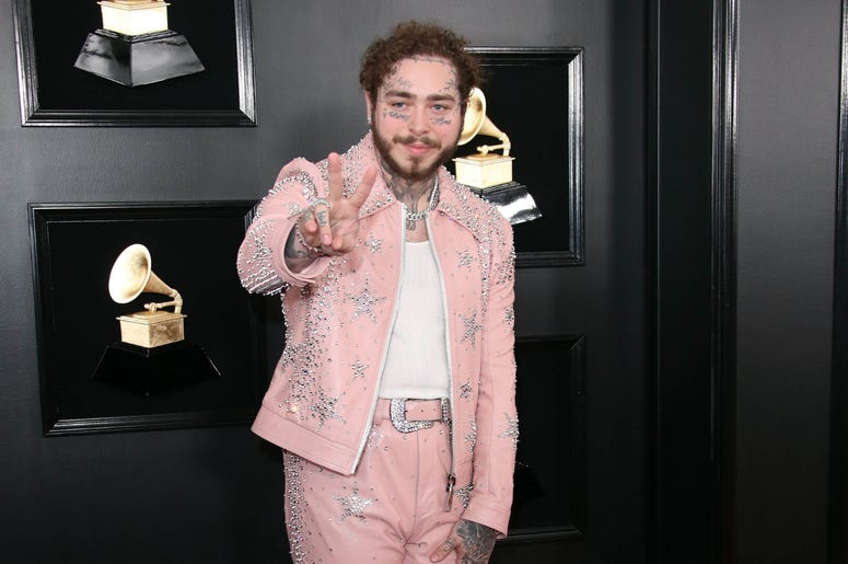 61st Annual GRAMMY Awards red carpet