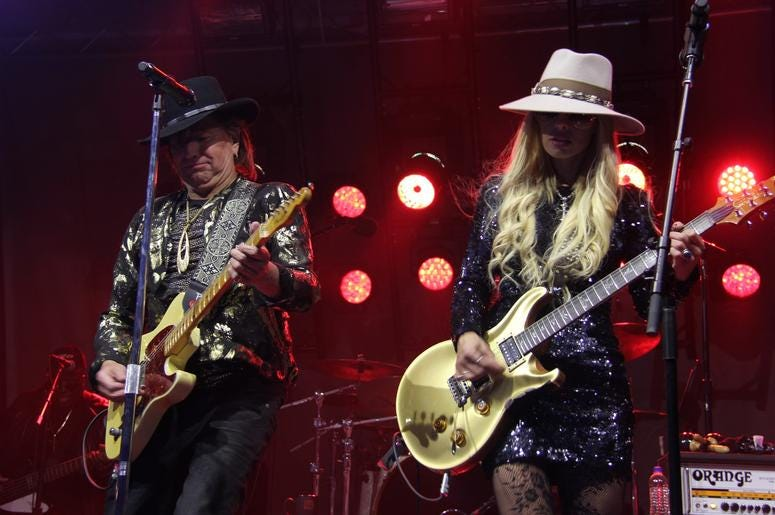 Richie Sambora & Orianthi RSO Perform at The Rock & Roll Hall of Fame & Museum