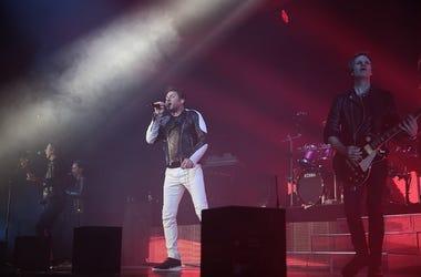 Duran Duran performing live