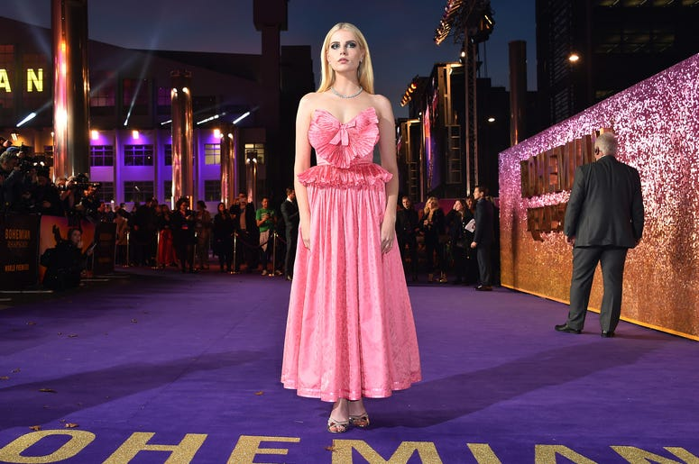 Lucy Boynton attending the Bohemian Rhapsody World Premiere held at the the SSE Arena, Wembley, London.
