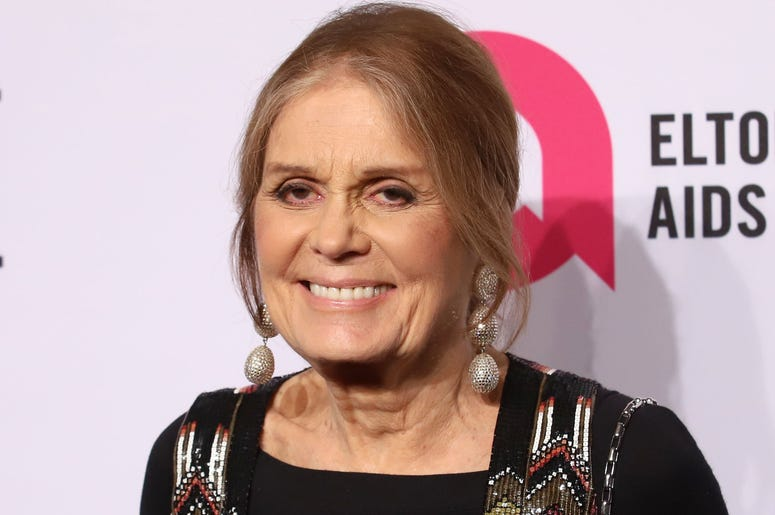 Gloria Steinem attends the 17th Annual An Enduring Vision gala at Cipriani in New York.