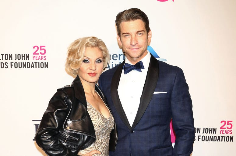 Andy Karl and Orfeh attend the 17th Annual An Enduring Vision gala at Cipriani in New York