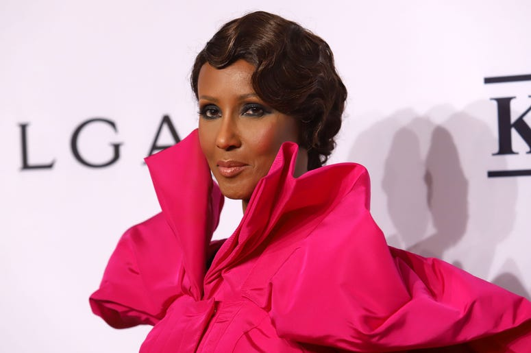 Iman attends the 17th Annual An Enduring Vision gala at Cipriani in New York.