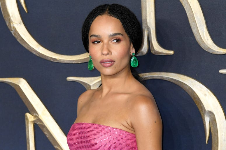 Zoe Kravitz attending the Fantastic Beasts: The Crimes of Grindelwald UK premiere held at Leicester Square, London.