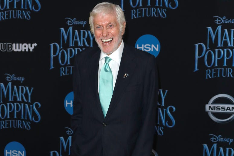 Dick Van Dyke at the Disney's 'Mary Poppins Returns' Los Angeles Premiere held at the Dolby Theatre on November 29, 2018 in Hollywood, CA, USA