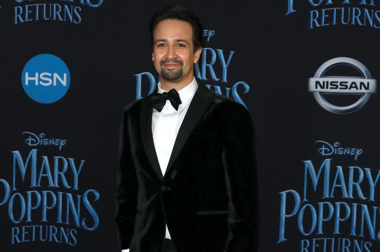 Lin-Manuel Miranda at the Disney's 'Mary Poppins Returns' Los Angeles Premiere held at the Dolby Theatre on November 29, 2018 in Hollywood, CA, USA