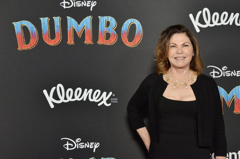 """Colleen Atwood arrives at Disney's """"Dumbo"""" Los Angeles Premiere held at the El Capitan Theatre in Hollywood, CA on Monday, March 11, 2019."""