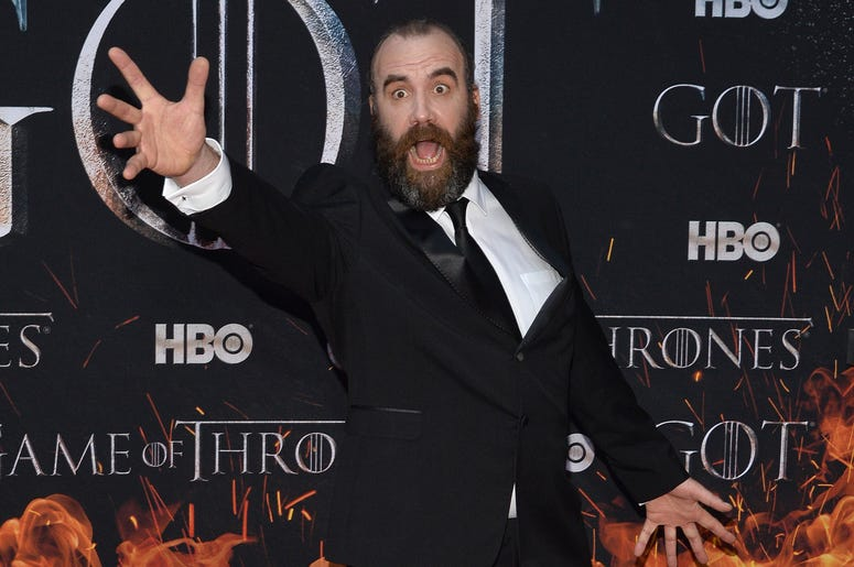 """Rory McCann attends HBO's """"Game of Thrones"""" eight and final season premiere at Radio City Music Hall in New York, NY, April 3, 2019."""