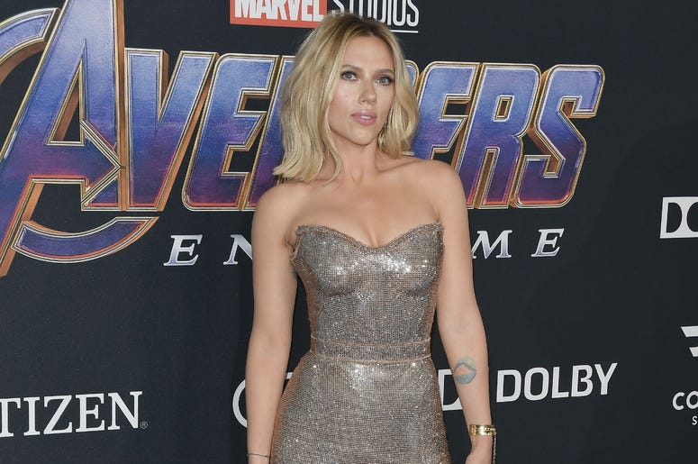 "Scarlett Johansson arrives at Marvel Studios' ""Avengers: Endgame"" World Premiere held at the Los Angeles Convention Center in Los Angeles, CA on Monday, April 22, 2019."