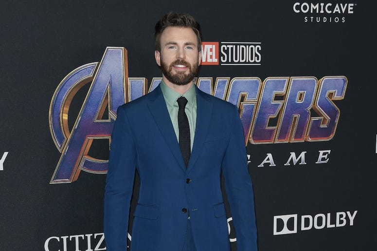 "Chris Evans arrives at Marvel Studios' ""Avengers: Endgame"" World Premiere held at the Los Angeles Convention Center in Los Angeles, CA on Monday, April 22, 2019."