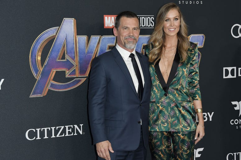 "(L-R) Josh Brolin and Kathryn Boyd at Marvel Studios' ""Avengers: Endgame"" World Premiere held at the Los Angeles Convention Center in Los Angeles, CA on Monday, April 22, 2019."