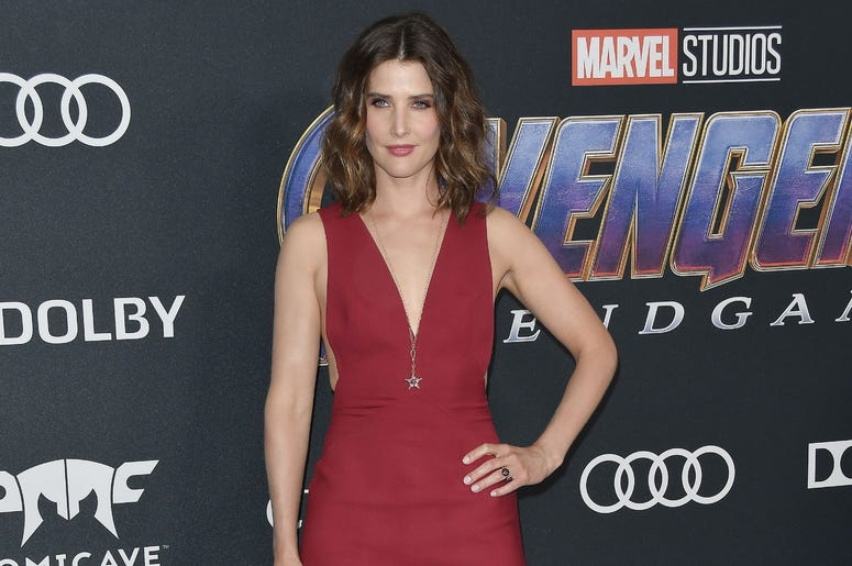 "Cobie Smulders arrives at Marvel Studios' ""Avengers: Endgame"" World Premiere held at the Los Angeles Convention Center in Los Angeles, CA on Monday, April 22, 2019."
