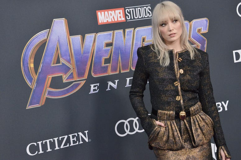 "Pom Klementieff arrives at Marvel Studios' ""Avengers: Endgame"" World Premiere held at the Los Angeles Convention Center in Los Angeles, CA on Monday, April 22, 2019."