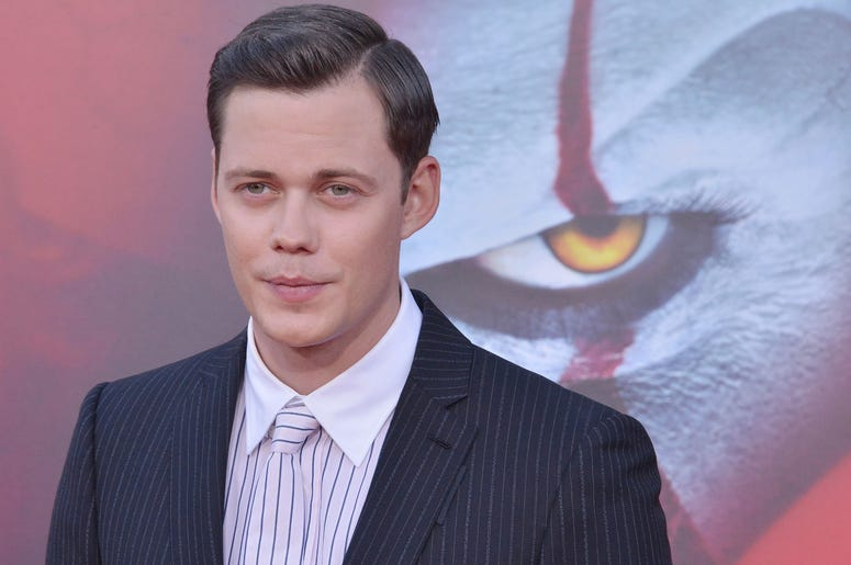 Bill Skarsgård arrives at the Warner Bros. Pictures' IT CHAPTER TWO Premiere held at the Regency Village Theatre in Westwood, CA on Monday, August 26, 2019.