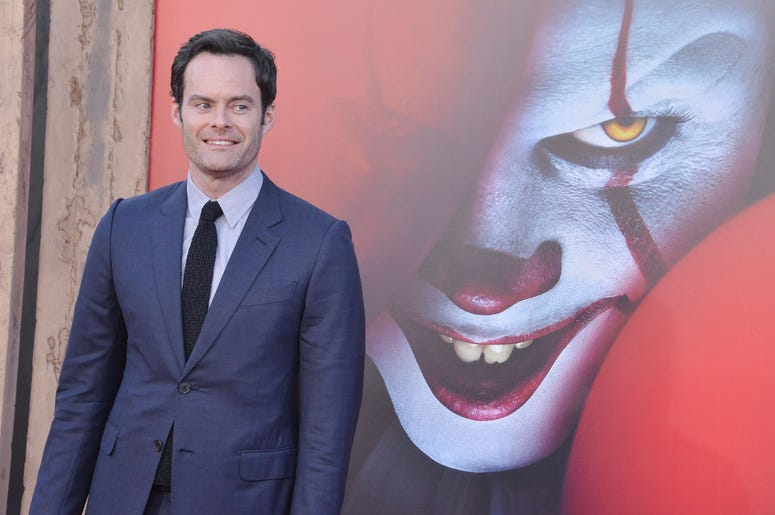 Bill Hader arrives at the Warner Bros. Pictures' IT CHAPTER TWO Premiere held at the Regency Village Theatre in Westwood, CA on Monday, August 26, 2019.