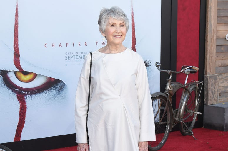 Joan Gregson arrives at the Warner Bros. Pictures' IT CHAPTER TWO Premiere held at the Regency Village Theatre in Westwood, CA on Monday, August 26, 2019.