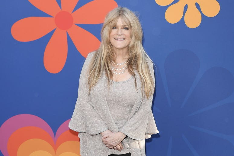 Susan Olsen arrives at HGTV's A VERY BRADY RENOVATION Los Angeles Premiere held at The Garland Hotel in North Hollywood, CA on Thursday, September 5, 2019.