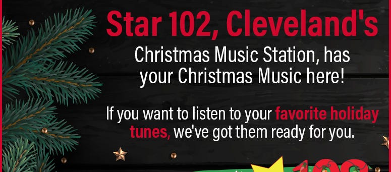 Wdok Christmas Music 2020 Stream Christmas Music Now | Star 102