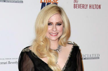 Avril Lavigne at the Race to Erase MS 25th Anniversary Gala