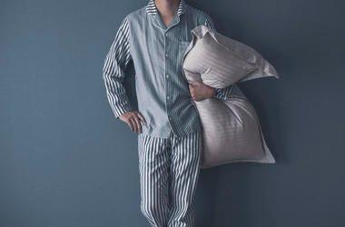pajama wearing