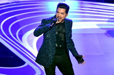 Adam Lambert performs