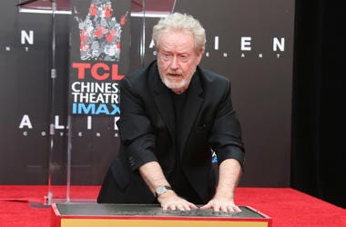 Sir Ridley Scott Hand And Footprint Ceremony