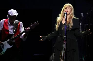 Stevie Nicks performs with Fleetwood Mac