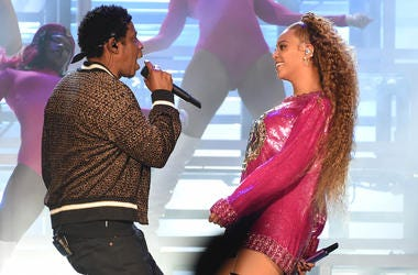 Jay-Z and Beyonce get ready for Cleveland