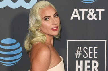 Lady Gaga attends the 24th annual Critics' Choice Awards at Barker Hangar on January 13, 2019 in Santa Monica, California.