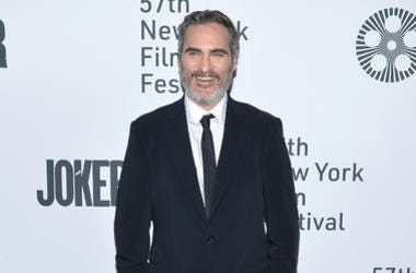 """Actor Joaquin Phoenix attends the """"Joker"""" Premiere at the 57th New York Film Festival in New York, NY, October 2, 2019."""