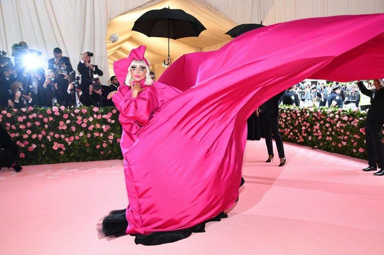 Lady Gaga attends The 2019 Met Gala