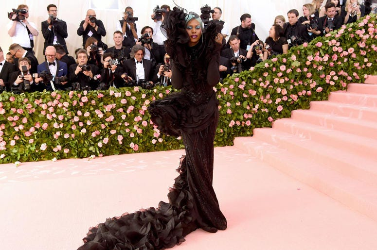 Laverne Cox attends The 2019 Met Gala