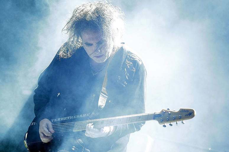 Robert Smith of The Cur