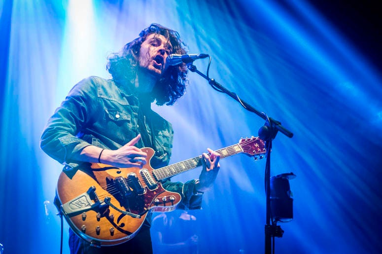 Hozier performs