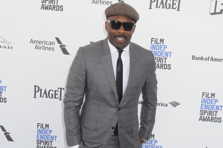 Santa Monica, California - Idris Elba. 31st Annual Film Independent Spirit Awards - Arrivals held at the Santa Monica Pier.
