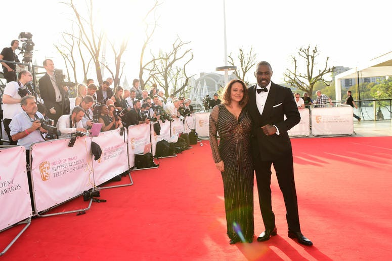 Idris Elba attending the House of Fraser BAFTA TV Awards 2016 at the Royal Festival Hall, Southbank, London.