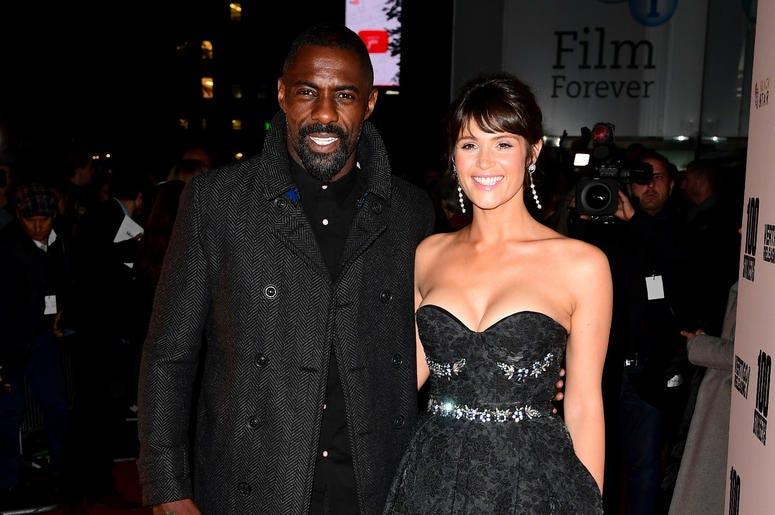 Gemma Arterton and Idris Elba attending the 100 Streets UK Premiere at the BFI Southbank, London.