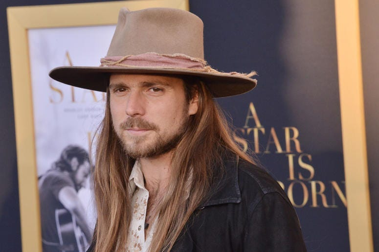 """Lukas Nelson arrives at """"A Star Is Born"""" Los Angeles Premiere held at The Shrine Auditorium & Expo Hall in Los Angeles, CA on Monday, September 24, 2018."""