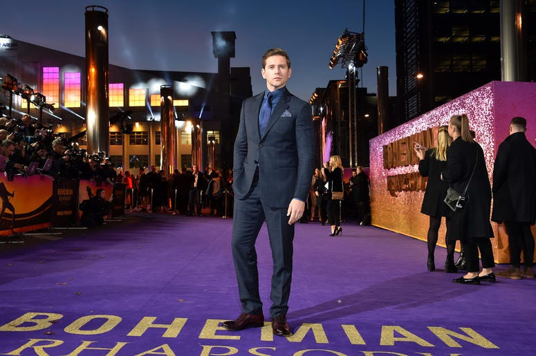 Allen Leech attending the Bohemian Rhapsody World Premiere held at the the SSE Arena, Wembley, London.