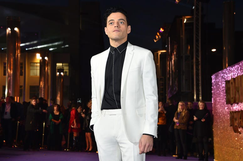 Rami Malek attending the Bohemian Rhapsody World Premiere held at the the SSE Arena, Wembley, London.
