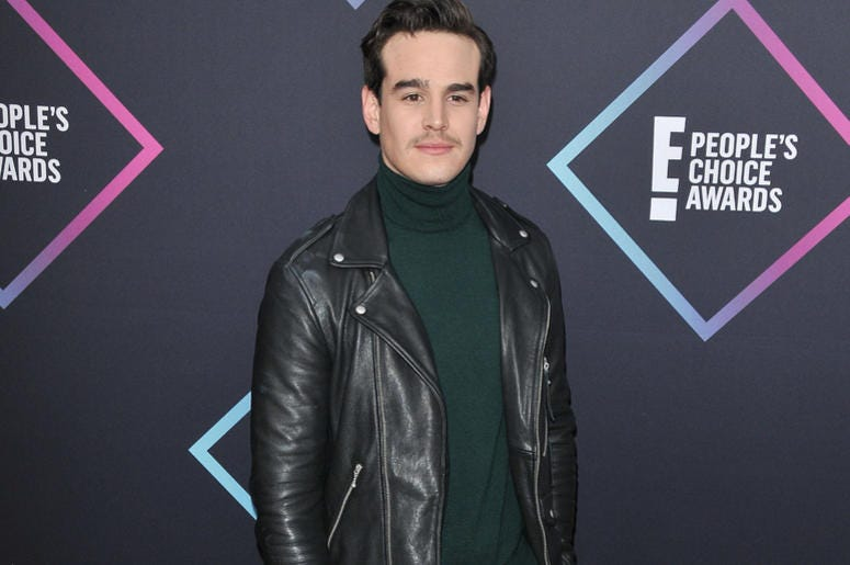 Alberto Rosende arrives at the 2018 E! People's Choice Awards held at the Barker Hangar in Santa Monica, CA on Sunday, ​November 11, 2018
