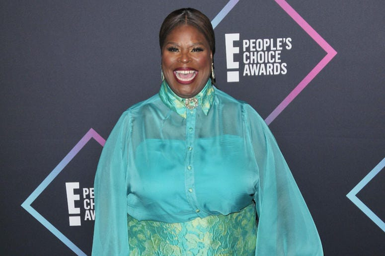 Retta arrives at the 2018 E! People's Choice Awards held at the Barker Hangar in Santa Monica, CA on Sunday, ​November 11, 2018.