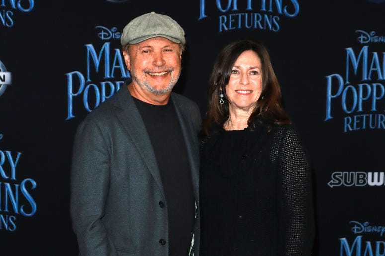 Billy Crystal (L) and Janice Crystal at the Disney's 'Mary Poppins Returns' Los Angeles Premiere held at the Dolby Theatre on November 29, 2018 in Hollywood, CA, USA