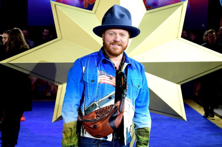 Leigh Francis attending the Captain Marvel European Premiere held at the Curzon Mayfair, London. Picture date: Wednesday February 27, 2019.
