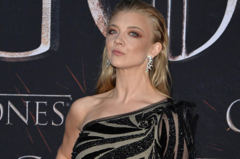 """Natalie Dormer attend HBO's """"Game of Thrones"""" eight and final season premiere at Radio City Music Hall in New York, NY, April 3, 2019."""