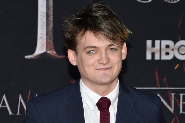 """Jack Gleeson attends HBO's """"Game of Thrones"""" eight and final season premiere at Radio City Music Hall in New York, NY, April 3, 2019."""