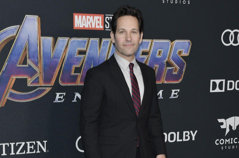 """Paul Rudd arrives at Marvel Studios' """"Avengers: Endgame"""" World Premiere held at the Los Angeles Convention Center in Los Angeles, CA on Monday, April 22, 2019."""