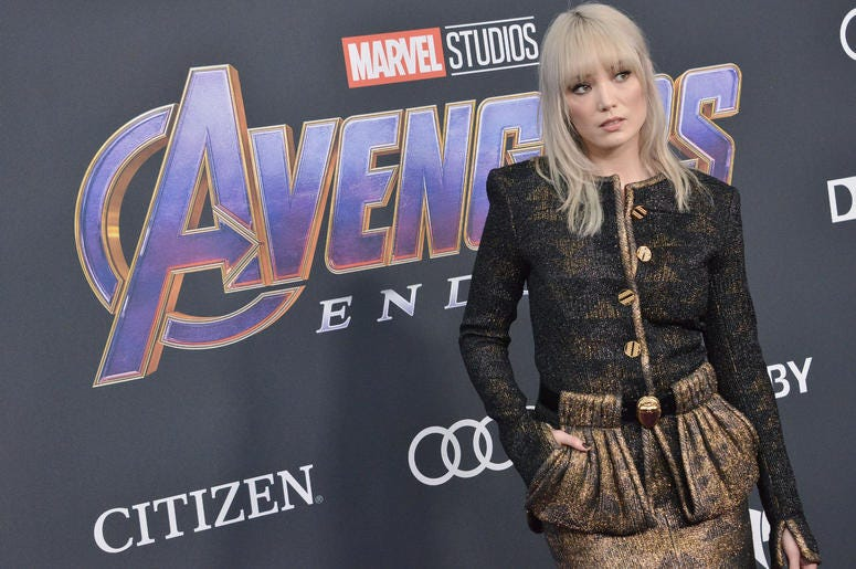 """Pom Klementieff arrives at Marvel Studios' """"Avengers: Endgame"""" World Premiere held at the Los Angeles Convention Center in Los Angeles, CA on Monday, April 22, 2019."""