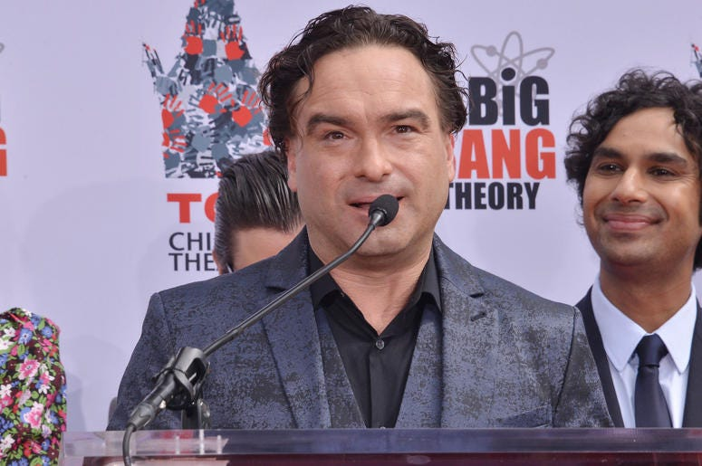 """Johnny Galecki at The Cast of """"The Big Bang Theory"""" Handprints in Cement Ceremony held at the TCL Chinese Theatre in Hollywood, CA on Wednesday, May 1, 2019."""