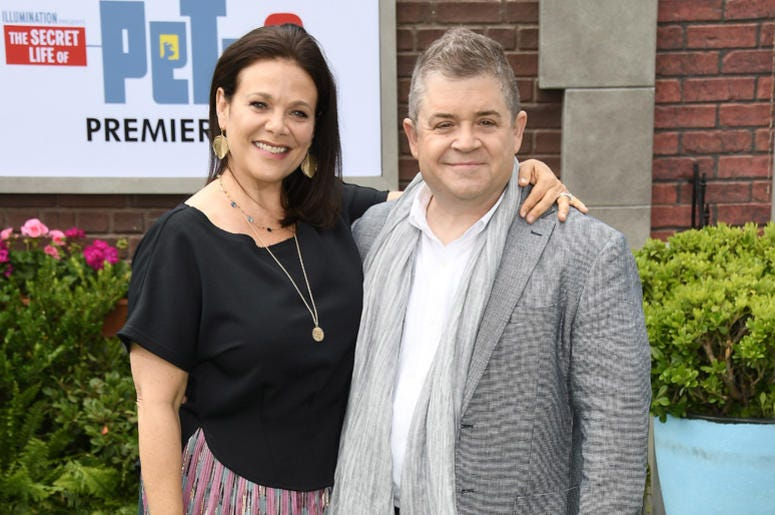 Meredith Salenger and Patton Oswalt at the Universal Pictures THE SECRET LIFE OF PETS 2 Los Angeles Premiere held at the Regency Village Theatre in Westwood, CA on Sunay, June 2, 2019.